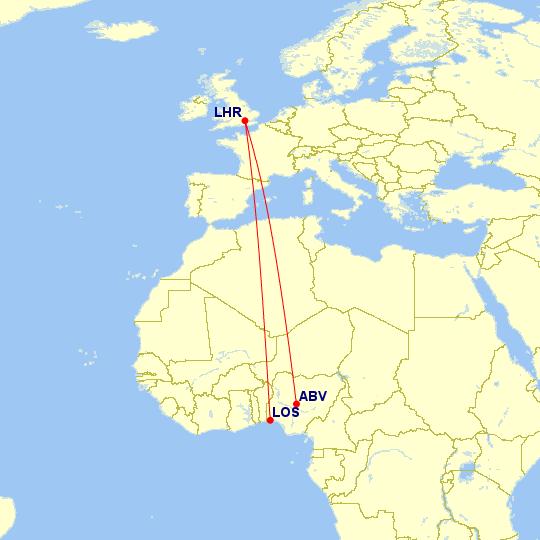 British Airways Flights From Nigeria To London