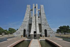 Kwame Nkrumah Park front view