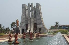 Kwame Nkrumah Park from the right