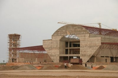 Asaba Airport right during construction