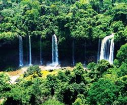 The magnificent Calabar Falls