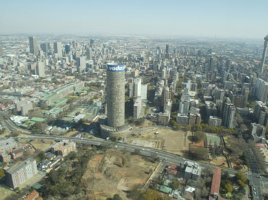 Views of Johannesburg's cbd