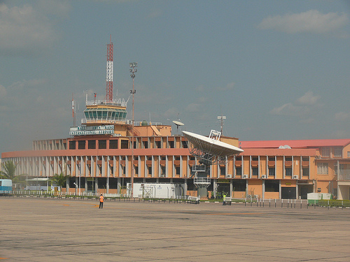 A shot of the wonderful Kano Airport