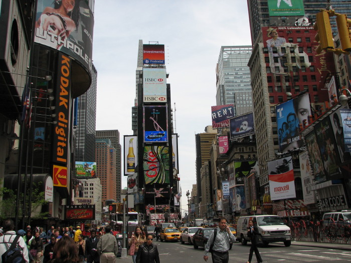 New Yorks Time Sqaure.