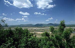 The Mandara Mountain ranges as seen from Yola