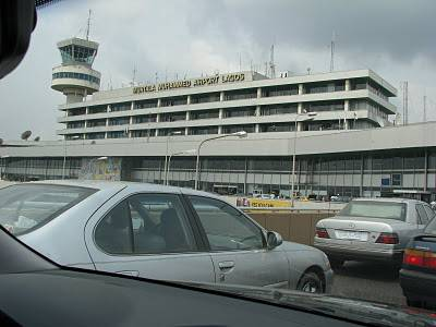 Arriving at Lagos Murtalla Muhammed International Airport